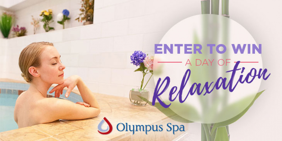 Win a Day of Relaxation at Olympus Spa!